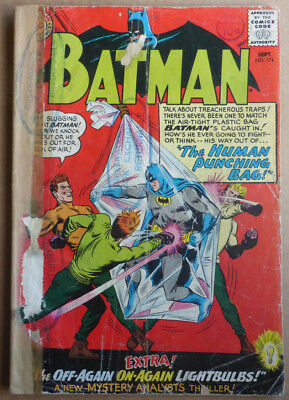 Batman #174, Silver Age 'the Human Punching Bag' 1965.