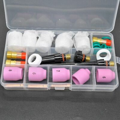 TIG Welding Torch Accessories #12 Pyrex Glass Cup Kit For WP-17/18/26 Durable