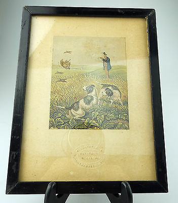 Antique Baxter Print signed an attractive Victorian Framed Print 3 C.19thC