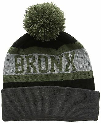 New Era Bronx Bobble Beanie Hat Brand New with Tags Sealed.
