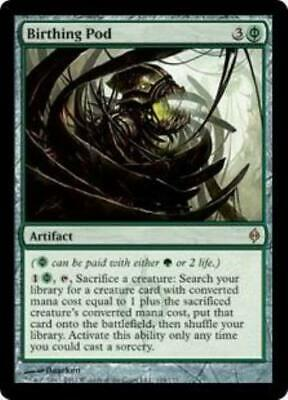 1x Birthing Pod • New Phyrexia • MP Moderately Played • MTG