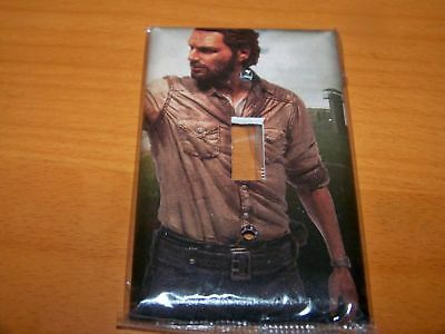 The Walking Dead Rick Grimes Television Tv Show Comic Book Light Switch Plate