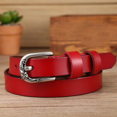 Women Genuine Leather Strap Belt Clothing Femme Waist Girdles Luxury Belts