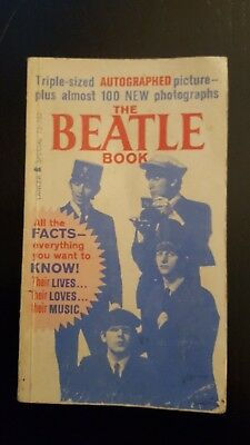 The Beatles - The Beatle Book by Lancer 1964 Original Edition