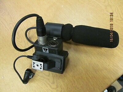 SONY ECM-NV1 MICROPHONE and Dual XLR adapter mount for HVR-A1E/P/U mic HDV