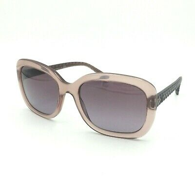 6f958595ae Chanel 5329 1533 S1 Square Transparent Pink Sunglasses W  Pink Lens 56mm