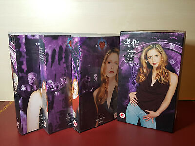 Buffy The Vampire Slayer Box Set Season 6 Episodes 12 To 22, PAL VHS Video Tapes