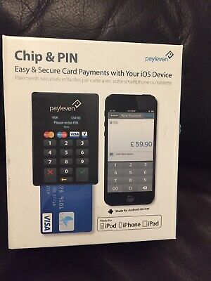 Payleven Chip and Pin Card Readers x3 and 1 Box iOS Compatible