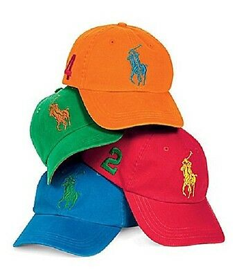 BRAND NEW Ralph Lauren Big Pony Baseball Cap - CHOOSE YOUR COLOR