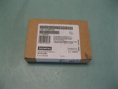 Siemens 6ES7132-4BF00-0AA0 Simatic ET 200S Digital Output NEW/SEALED H19 (2479)