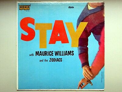 Maurice Williams and the Zodiacs – Stay with... (Herald)  HLP 1014 RARE R&B VG+!