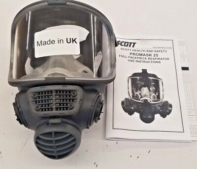 Scott Safety Promask 25 Full Face Respirator