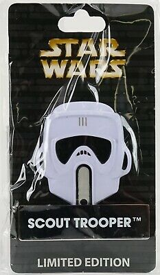 "New Disney Parks Star Wars Pin Of The Month Scout Trooper 3"" Metal LE 4000 Pin"