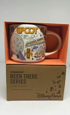 Disney Parks Starbucks Been There Epcot Coffee Mug New with Box