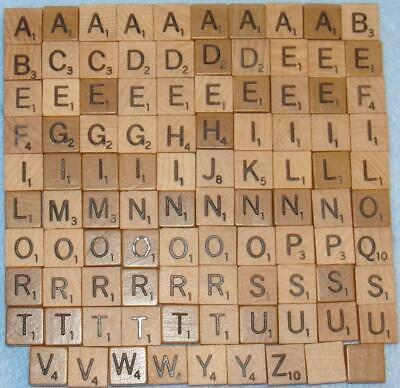 aed43066eb4b Scrabble Tiles Replacement Letter H Maroon Burgundy Wooden Craft Game Part  Piece Games