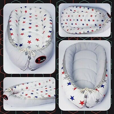 Baby nest pod cocoon cushion bed reversible BIGGEST RANGE OF HIGH QUALITY NESTS