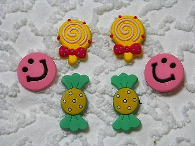 Croc Clog Happy Face / Candy Plug Shoe Charms Will Also Fit Jibitz,Croc  C 623