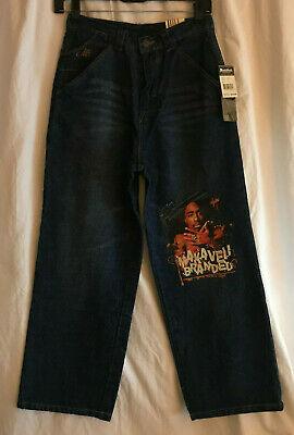 New Makaveli Branded Jeans Kids Size 12 Blue