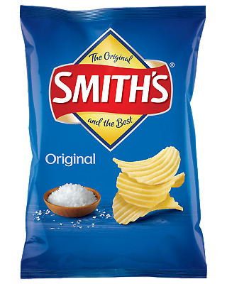 Smith's Crinkle Cut Original Chips 170g Other Drinks case of