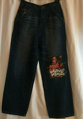 New Makaveli Branded Jeans Kids Size 14 Blue