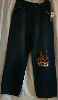 New Makaveli Branded Jeans Kids Size 20 Blue