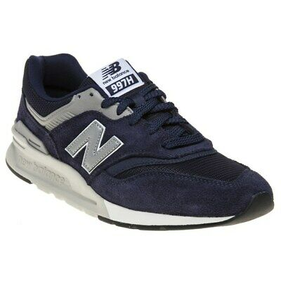 NEW MENS NEW Balance Blue 420 Suede Trainers Retro Lace Up