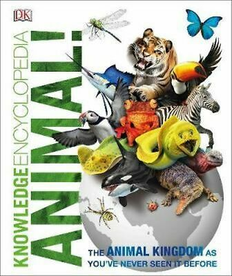NEW Knowledge Encyclopedia Animal! By DK Hardcover Free Shipping