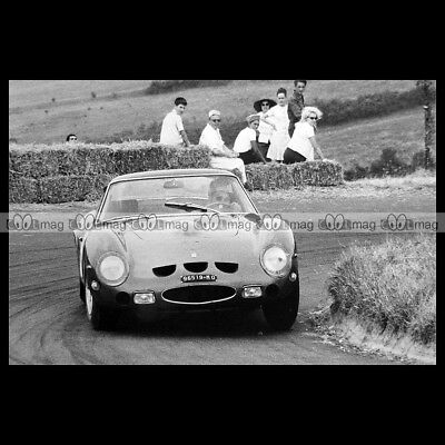 #pha.014969 Photo FERRARI 250 GTO SIFFERT SCUDERIA FILIPINETTI 500 KM SPA 1963
