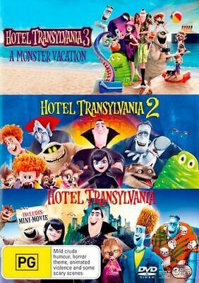 NEW Hotel Transylvania Trilogy DVD Free Shipping