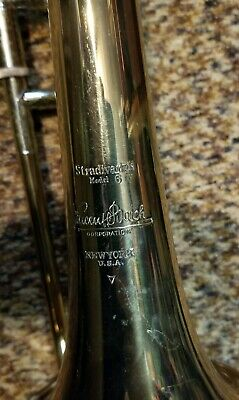 Vincent Bach 51 Corporation Stradivarius Model 6 iv NewYork Trombone