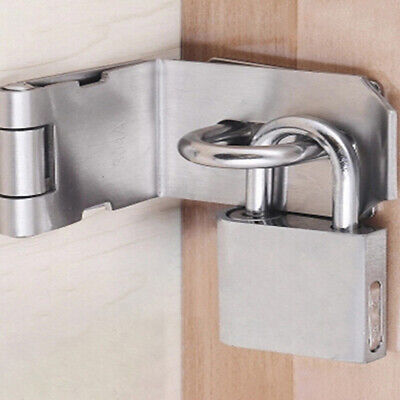 Furniture Hardware Cabinet Box Safety Hasp and Staple Latch Lock Sliding Door OE