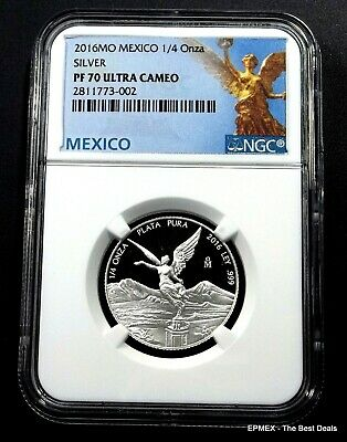 ☆☆ 2016 Mexico 1/4 oz Silver Proof Libertad NGC PF70 UCAM - Libertad Label ☆☆