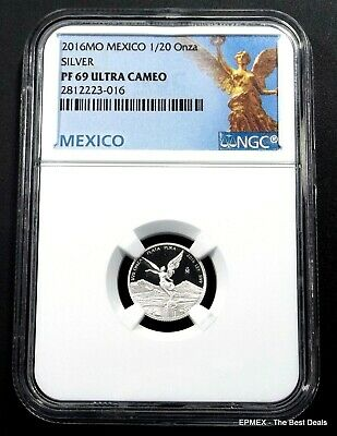 ☆☆ 2016 Mexico 1/20oz Silver Proof Libertad NGC PF69 UCAM - Libertad Label ☆☆