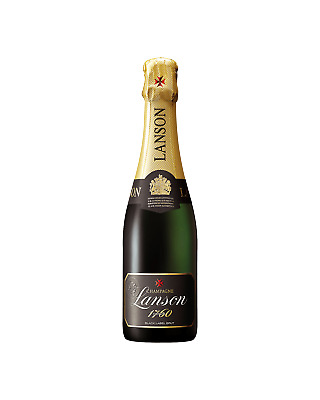 Lanson Black Label Champagne 375mL Champagne Sparkling case of 12