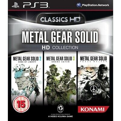 Metal Gear Solid HD COLLECTION ✅ Play Station 3 ✅  BEST price on eBay ✅✅ ps3