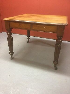 Antique  Library Table  Gillows Manner Sn-977