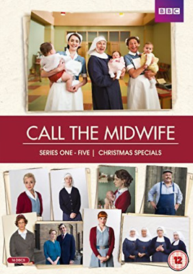 Call The Midwife S1-5 & Spec Bxst Repack DVD NEW