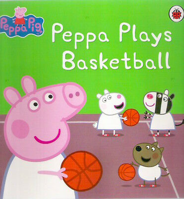 PEPPA PIG PLAYS BASKETBALL Brand New! paperback Childrens Classic Collectable