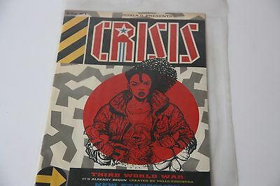 2000 AD Presents CRISIS Comic - No 1 17/30 Sep 1988. Stored in plastic comic bag