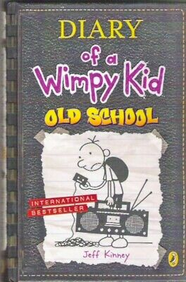 DIARY OF A WIMPY KID OLD SCHOOL Jeff Kinney 1st 2015 hardback Childrens Classic