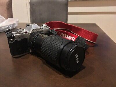 Canon AV-1 35mm Film Camera Vintage Photography Retro FD mount