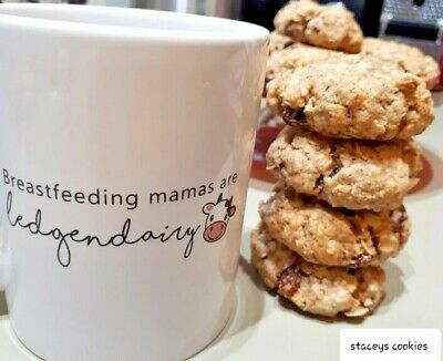 Lactation breastfeeding cookies biscuits DIY mix oats & sultana