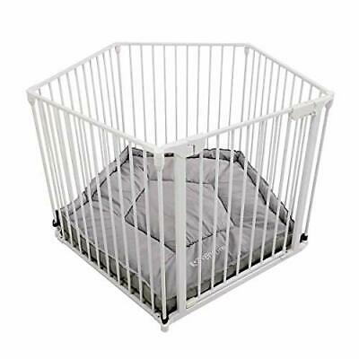 Venture All Stars VUE Playpen White includes fitted playmat