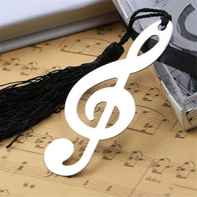 Bookmark Fashion Music Note Book Marker Novel Ducument For Reading Note Bookmark