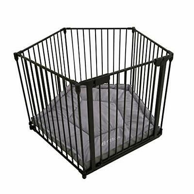Venture All Stars VUE Playpen Charcoal includes fitted playmat