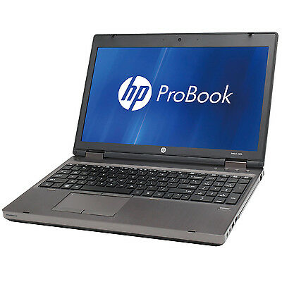 "HP ProBook 6570b Core i5-3230M 2.6Ghz 8GB 320GB 15"" Win-10 Laptop"