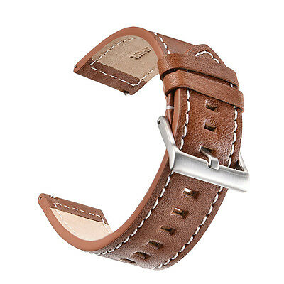 Retro Leather Watch Band Wrist Strap Bracelet For Samsung Gear S3 high quality