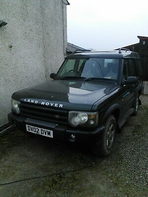 Land Rover Discovery 2 TD5 GS Auto facelift spares or repair , MOT'd 28.6.19