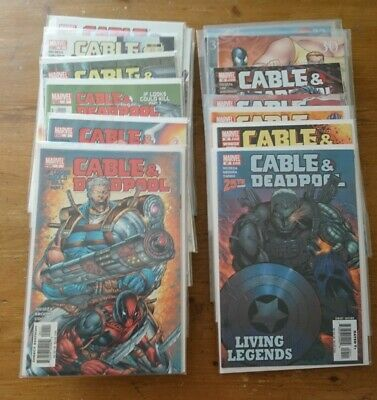 Cable And Deadpool #1 - 50 Complete full run - Marvel 2004 Fabian Nicieza