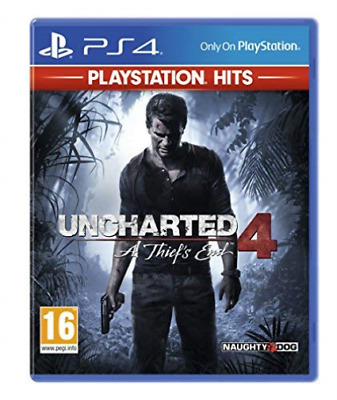 Uncharted 4: A Thief`s End - PlayStation Hits (PS4) GAME NEW